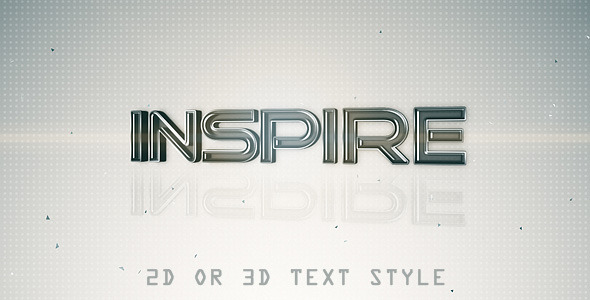 After Effects Project - VideoHive 3D Glass Titles 645760