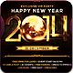 New Year 2014 Flyer Template - GraphicRiver Item for Sale