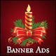 Professional Christmas Banner Ads - ActiveDen Item for Sale