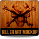 Killer Art Canvas HD ( Mock-Up ) - GraphicRiver Item for Sale