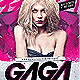 Gaga Flyer Template - GraphicRiver Item for Sale