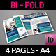 Company Brochure Bi-Fold Template Vol5 - GraphicRiver Item for Sale