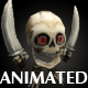 mini Skeleton Low Poly Animated - 3DOcean Item for Sale