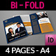 Company Brochure Bi-Fold Template Vol.8 - GraphicRiver Item for Sale