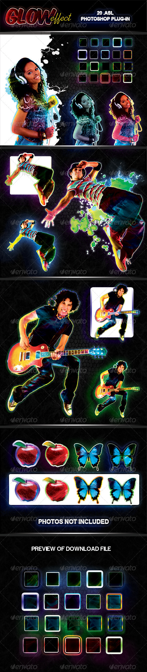 GraphicRiver Glowing Image ASL pack 639683