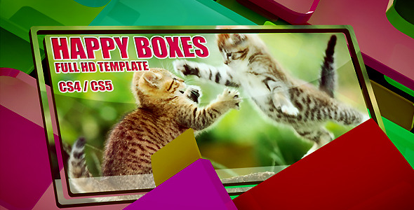 After Effects Project - VideoHive Happy BOXES 651522