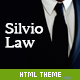 Silvio - HTML Theme for Law Firms - ThemeForest Item for Sale