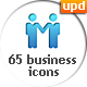 65 Animated Business Icons - VideoHive Item for Sale