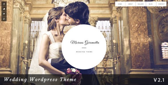 Moreno - Responsive Wedding Wordpress Theme