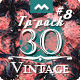 30 Vintage Premium Texture for Design - TP Pack #8 - GraphicRiver Item for Sale