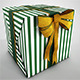 3D Gift Present Box High Quality Mesh - 3DOcean Item for Sale