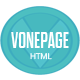 vOnePage Parallax HTML Template - ThemeForest Item for Sale