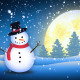 Winter Snow Man - VideoHive Item for Sale
