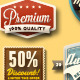 Vintage Web Badges - GraphicRiver Item for Sale