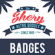Shery 2 Retro Badges - GraphicRiver Item for Sale