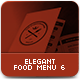 Elegant Food Menu 6 - GraphicRiver Item for Sale