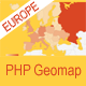 PHP Geomapping Widgets (Europe)  - CodeCanyon Item for Sale