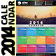 2014 Calendar Template - GraphicRiver Item for Sale