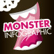Monster Infographic - GraphicRiver Item for Sale