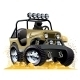 Cartoon Jeep - GraphicRiver Item for Sale