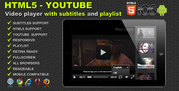 Free and premium themes download : Download HTML5 Youtube