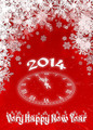 Very happy new year 2014 red - PhotoDune Item for Sale