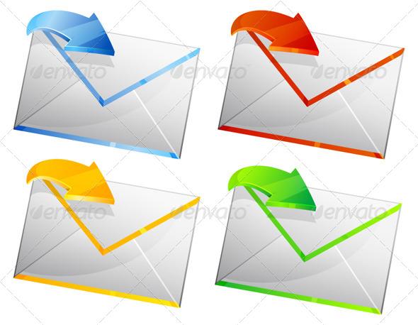 GraphicRiver Email Illustration 6329865