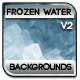 Frozen Water Ripples Background V.2 - GraphicRiver Item for Sale