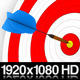 Darts Hitting a Target Bullseye - 2 Styles - VideoHive Item for Sale