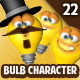 Bulb Character Creation Kit - GraphicRiver Item for Sale