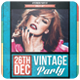 Vintage Party - Flyer - GraphicRiver Item for Sale