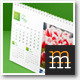 Desk Calendar-3 2014 - GraphicRiver Item for Sale
