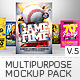 Multipurpose Mockup Pack 5 - GraphicRiver Item for Sale