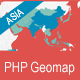 PHP Geomapping Widgets (Asia)  - CodeCanyon Item for Sale