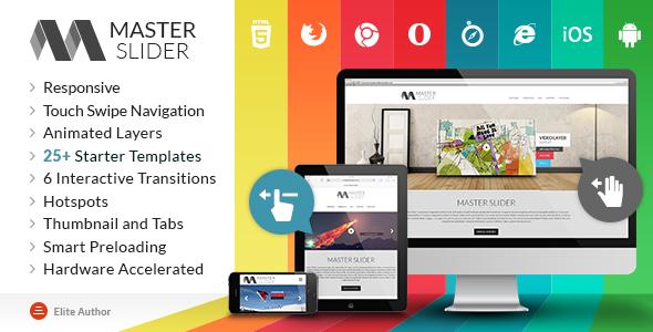 Cute Slider - 3D & 2D HTML5 Image Slider - 3