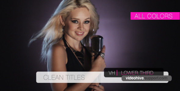 After Effects Project - VideoHive Double Lower Third V2 663065