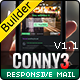 CONNY3 - Responsive Email With Template Builder - ThemeForest Item for Sale