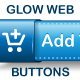 Glow Web Buttons - GraphicRiver Item for Sale