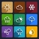 Weather Flat Icons Set 27 - GraphicRiver Item for Sale
