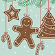 Gingerbreads Christmas Card - GraphicRiver Item for Sale