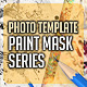 Paint Mask Photo Template v1 - GraphicRiver Item for Sale