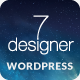 De7igner - Flat iOS7 Inspired OnePage Parallax WP - ThemeForest Item for Sale
