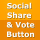 Social Share/Vote Button Content Plugin - CodeCanyon Item for Sale