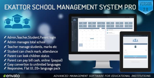 ekattor- School Managment System Pro Nulled ~ Free Script World