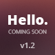 Hello Responsive Coming Soon Template - ThemeForest Item for Sale