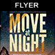 Move at Night | Flyer Template - GraphicRiver Item for Sale