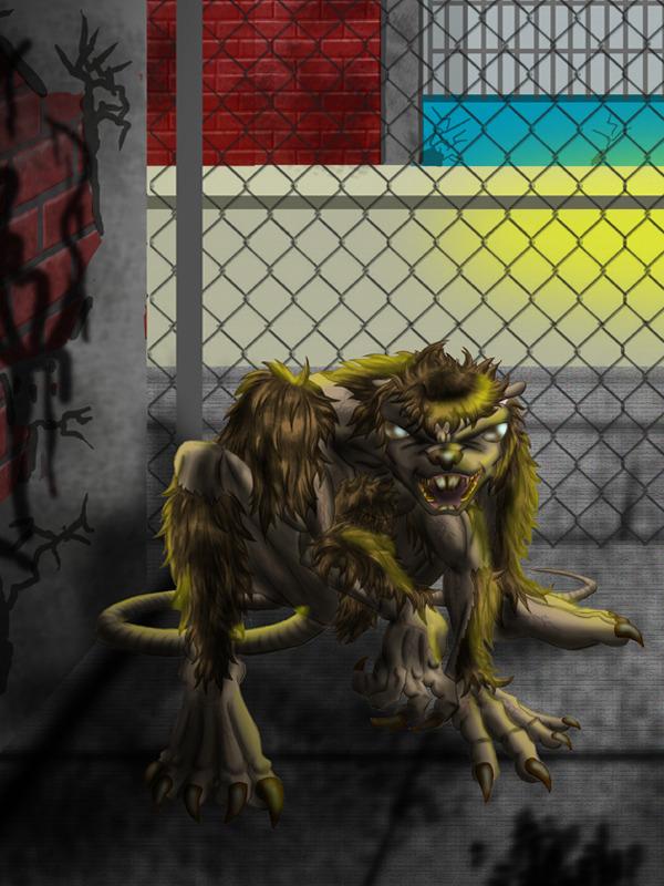 3DOcean Rats-man 2D Concepts -  Creatures 666197
