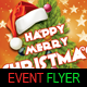 Happy Merry Christmas Flyer Template - GraphicRiver Item for Sale
