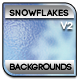Frozen Snowflakes Backgrounds - GraphicRiver Item for Sale