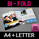Company Brochure Bi-Fold Template Vol.11 - GraphicRiver Item for Sale
